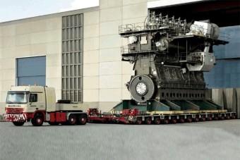 Százezer lóerős dízelmotor