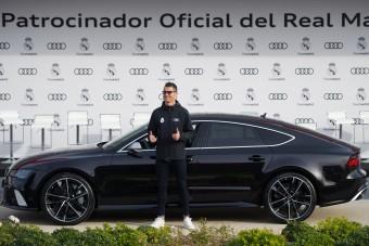 Méregdrága Audikat kaptak a Real Madrid játékosai