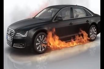 Az összes titkot elárulja ez a videó a páncélozott Audiról