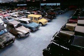 Kiárusítják a Citroën-múzeum kincseit