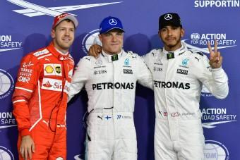 F1: Bottas ezúttal megtartaná az első helyet
