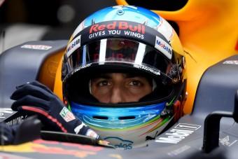 F1: Ricciardo a dobogóért megy, Verstappen szenved a Red Bullal