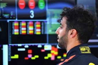 F1: Ricciardo elégedetlen a szombatokkal