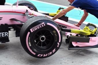 F1: Ilyen se volt még, mindenkinek bejöttek az új Pirellik