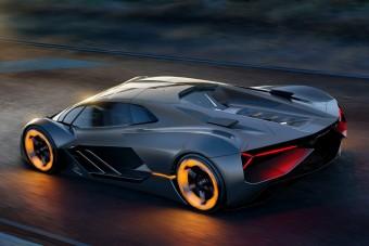 Egész karosszériájában tárolja az energiát a Lamborghini villanyautója