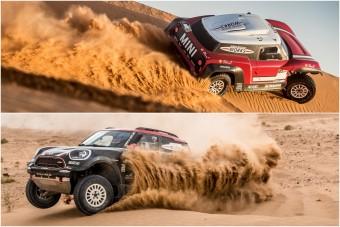Kétféle versenyautóval indul a Dakaron a MINI