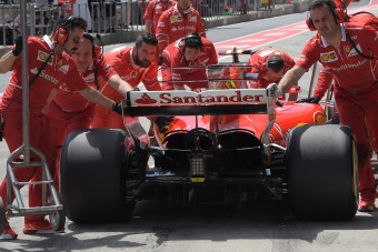 F1: Hivatalos, a főszponzor elhagyta a Ferrarit