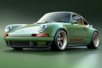 Álmaink retró sportkocsija ez az 500 lovas Singer Porsche