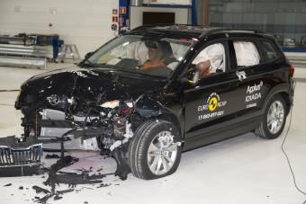 Tisztességesen véd a Škoda kompakt szabadidőjárműve