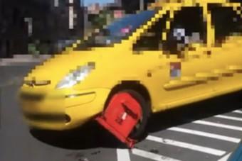 Idegállapotba került egy budapesti taxis, elindult a kerékbilinccsel