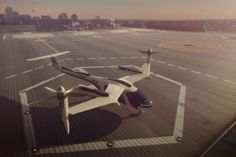 Repülő taxit fejleszt az Uber és a NASA