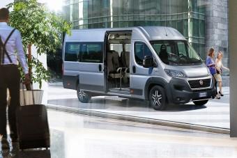 Új minibuszvariánsokkal bővült a Ducato-kínálat