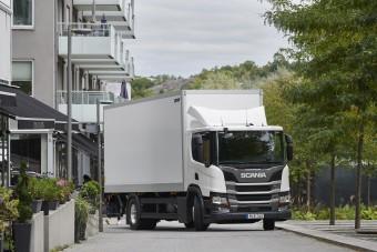 Újragondolta közepes teherbírású teherautóit a Scania