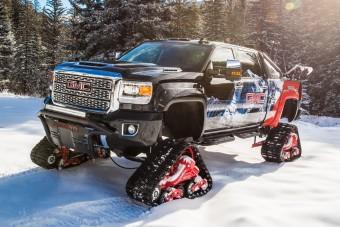 Ha majd lesz hó, ilyen autót szeretnénk