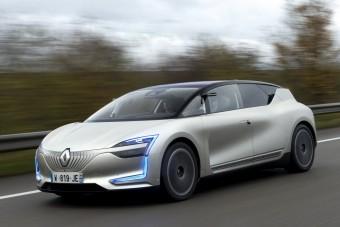 Gyönyörű új világot vetít előre a Renault tanulmánya