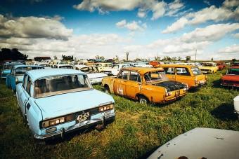 Hihetetlen autógyűjtemény pusztul Oroszországban