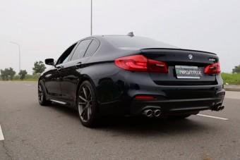 Sikerült jó hangot csinálni a négyhengeres 5-ös BMW-nek?