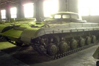 Ufónak néz ki ez a hihetetlen orosz tank