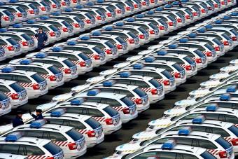 33 milliárdért vett új autókat a rendőrség