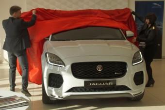 Tízmillió alól indul a kis Jag-SUV ára
