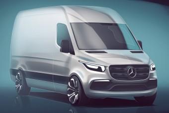 Felfedtük a következő generációs Mercedes Sprinter titkát