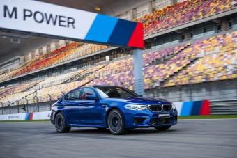 Ki nem találnád, hol döntött rekordot a BMW M5