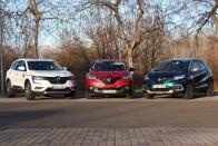 Szabadidő-autó, akár terepre is – Renault Kadjar 2019 2