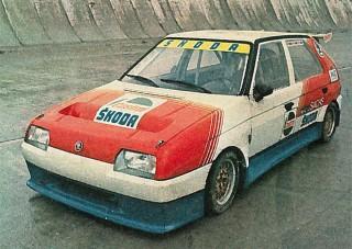 Ennél nem volt keményebb Škoda a kilencvenes évek elején