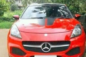 Pofátlan átverés: Mercedesnek álcázva adtak el egy használt Suzukit