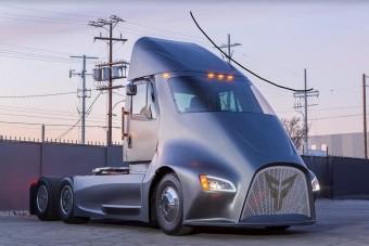 Máris kihívója akadt a Tesla teherautójának