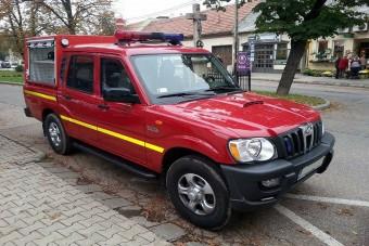 Indiai alapokra épül az új magyar tűzoltóautó