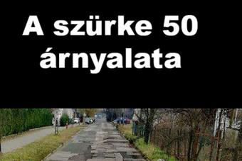Vajon van ennél többet foltozott út ma Magyarországon?