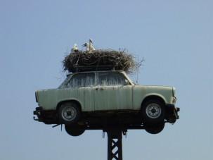 Már le se tojják a világ legtöbbet fotózott Trabantját