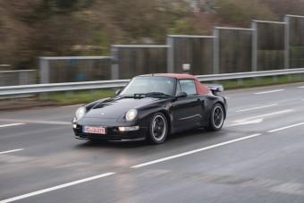 Ilyen Porsche 911 kabriót se vehetsz minden nap