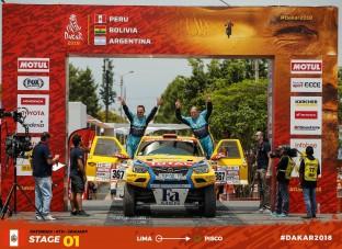 Túl van az első napon a Dakar-rali mezőnye, a magyar csapat versenyben