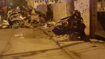 200 km/óra felett szállt el a részeg román autós, az eredmény maga a pokol