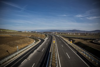 Fontos autópályaszakasz épül a jövő év végéig