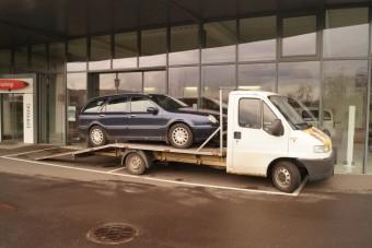 Szándékosan okozott baleseteket egy autómentős