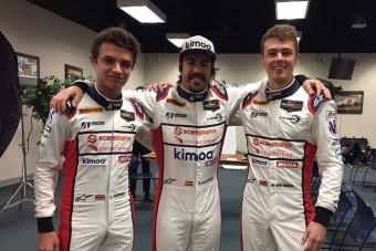 Itt van Alonso új munkaruhája