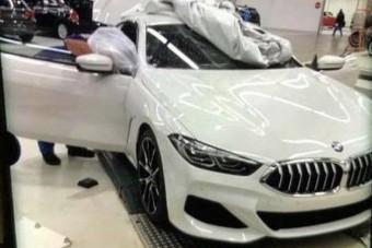 Kémfotón a BMW új luxuskupéja