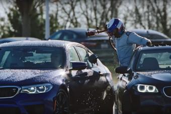 8 órán át driftelt az új BMW M5