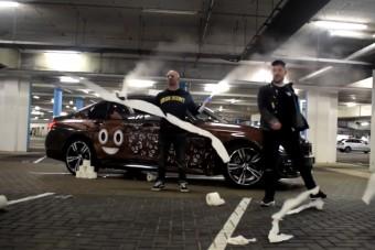 BMW-re húzták a év legízléstelenebb fóliáját