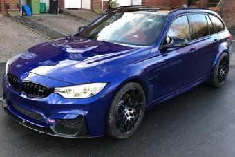 Megépítették a tökéletes M3-as BMW-t. Igen, a kombit!
