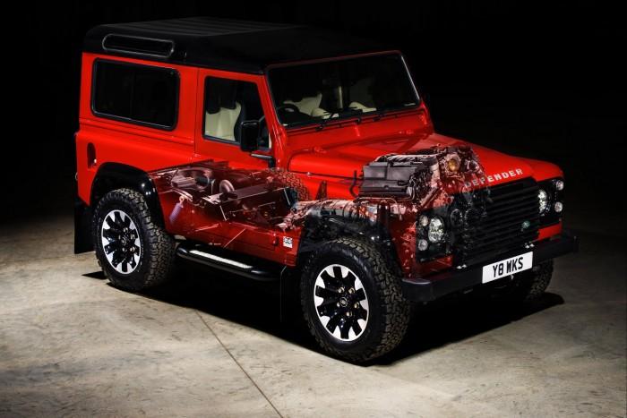 Ismét gyártják az ős-Land Rovert! 2
