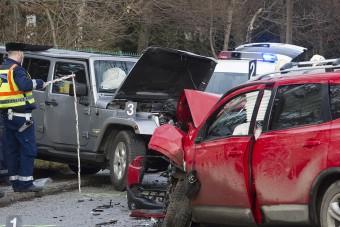 Emiatt törtek halomra tavaly a magyar autók