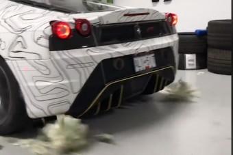 Sok a pénzed? Rúgasd szét Ferrarival!
