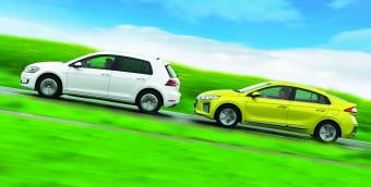 Melyik jobb villanyautó: Ioniq vagy e-Golf?