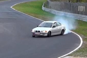 Naná, hogy nem bírtak magukkal a BMW-sek!