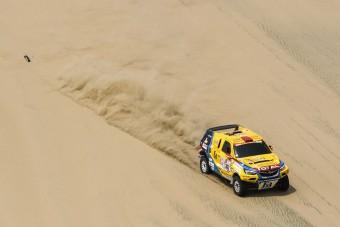 Szalayék túlélték a durva Dakar-szakaszt