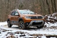 Ahogy ez a Dacia Duster felborul, arra nincsenek szavak 1